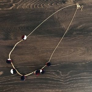 Madewell jubilate Pom Pom necklace